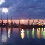 Перевалка груза порта Одессы в январе 2013 года.