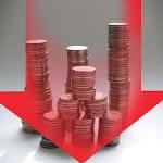 Объем иностранных  капиталовложений за  2012 год в Болгарии значительно сократился.