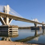 Второй мост через Дунай будет торжественно открыт в мае.