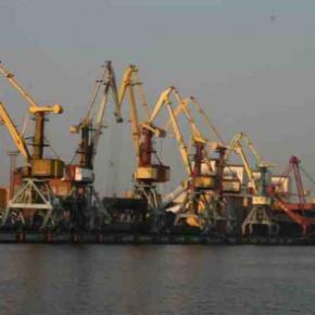 Вентспилский порт