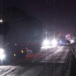 В связи с ухудшением погодных условий семь пунктов пропуска через границу Молдовы перекрыты.