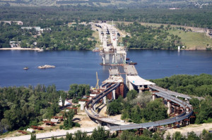 Мост в Запорожье
