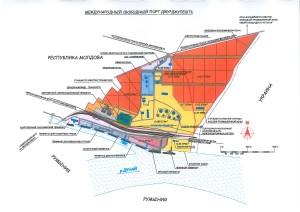 План порта Джурджулешты