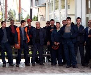 Уволенные рабочие порта Измаил