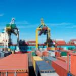 Морпорт «Джурджулешты» открыл интермодальный транспортный переход  товаров между  Балтийским и Черным морями.