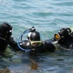 Одесскими  пограничниками был  испытан аппарат для обследования подводной части кораблей.