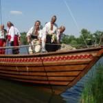 Казацкие «чайки» прошли по нижнему Дунаю, для привлечения туристов.