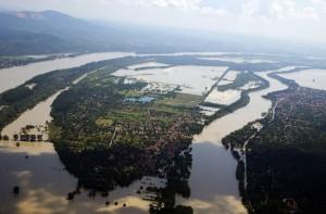 Наводнение в Дунае
