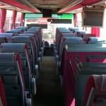 Поездка с ребенком в арендованном автобусе
