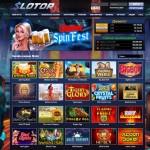 Онлайн-казино Slotor – система оптимизированных бонусов